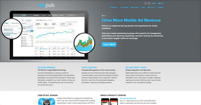 MoPub - a top mobile ad network